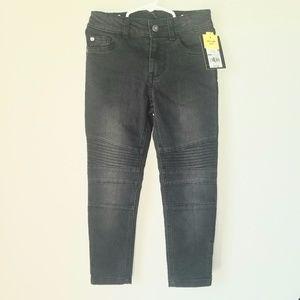 Moto Woven Jeans